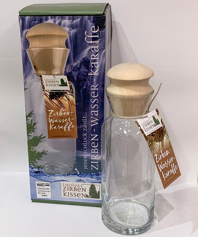 Zirben-Wasser-Karaffe 1l