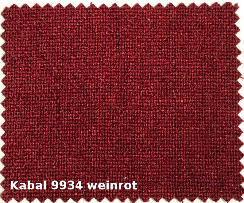 Kabal 9934 weinrot