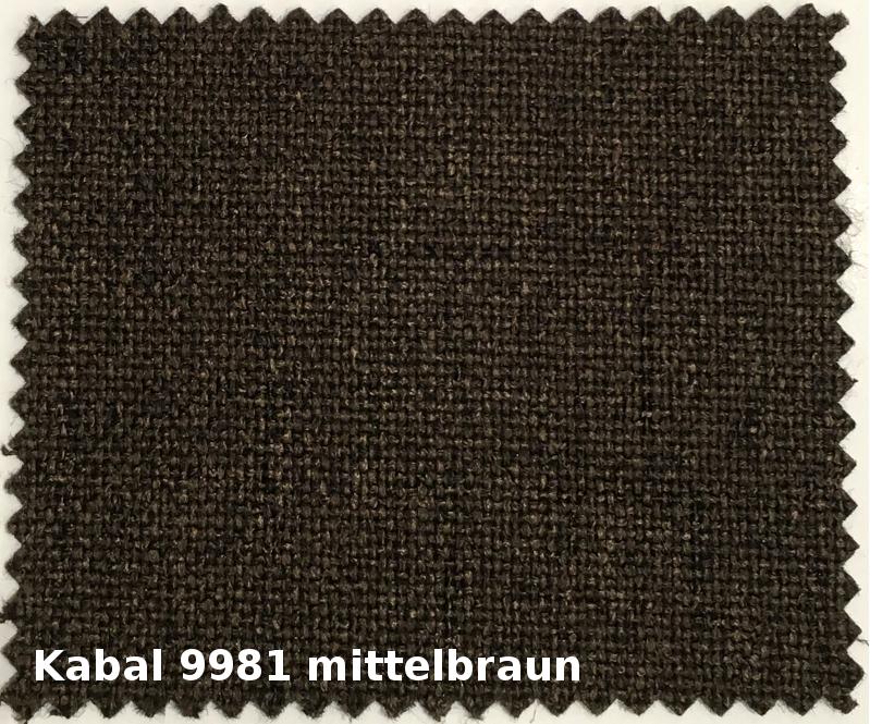 Kabal 9981 mittelbraun